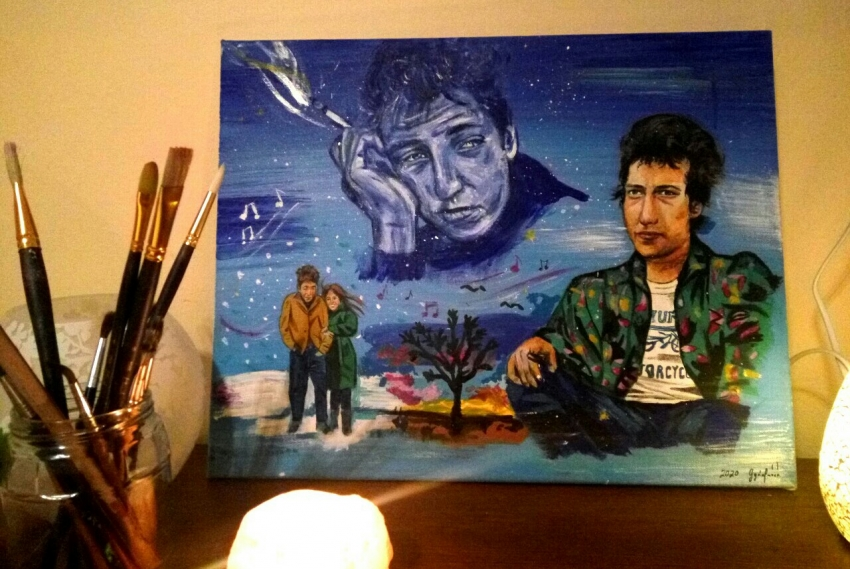 Bob Dylan by lilie1111